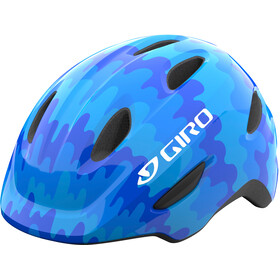 Giro Scamp Helm Kinder blue splash